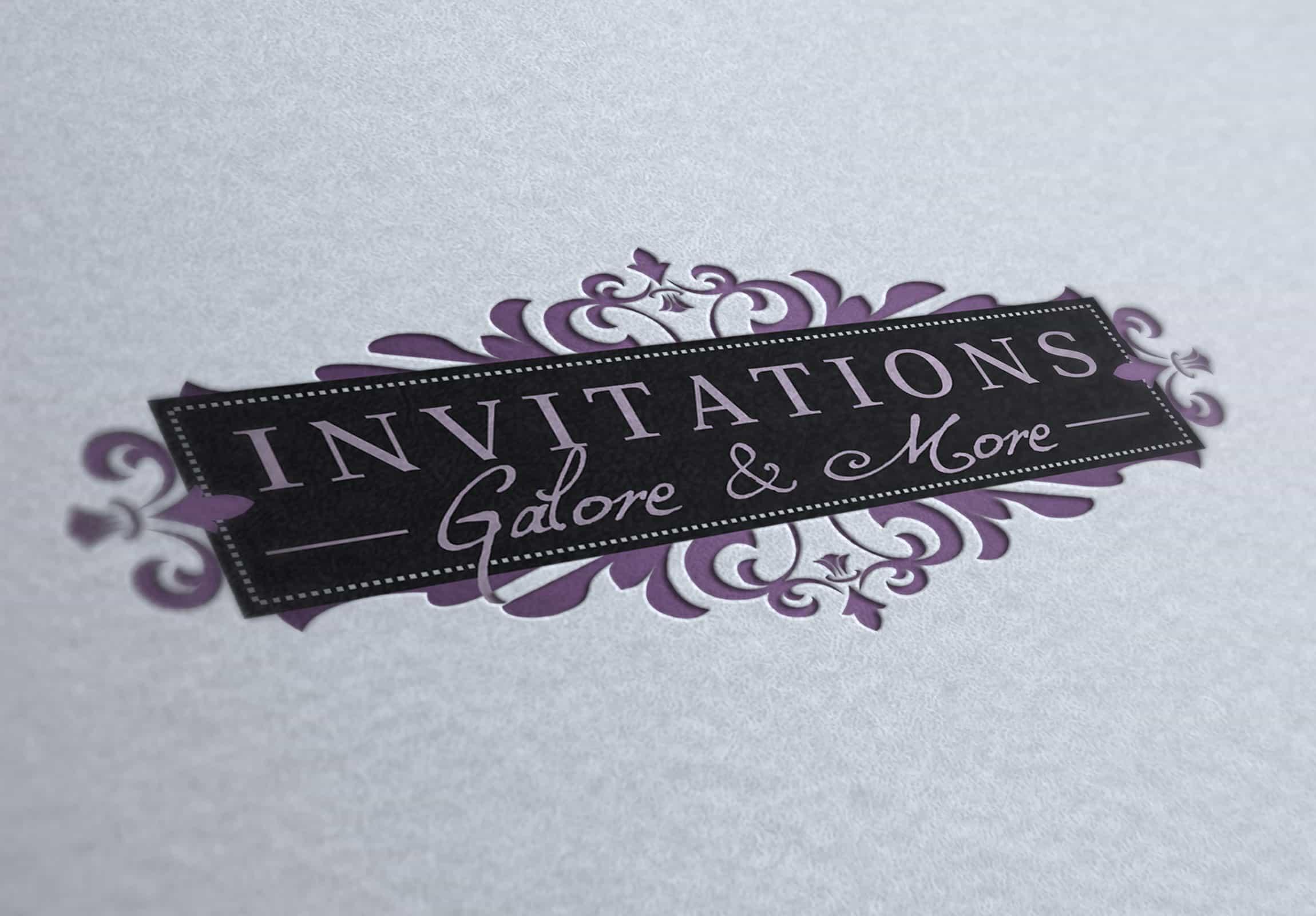 Invitations Galore & More - Branding & Marketing