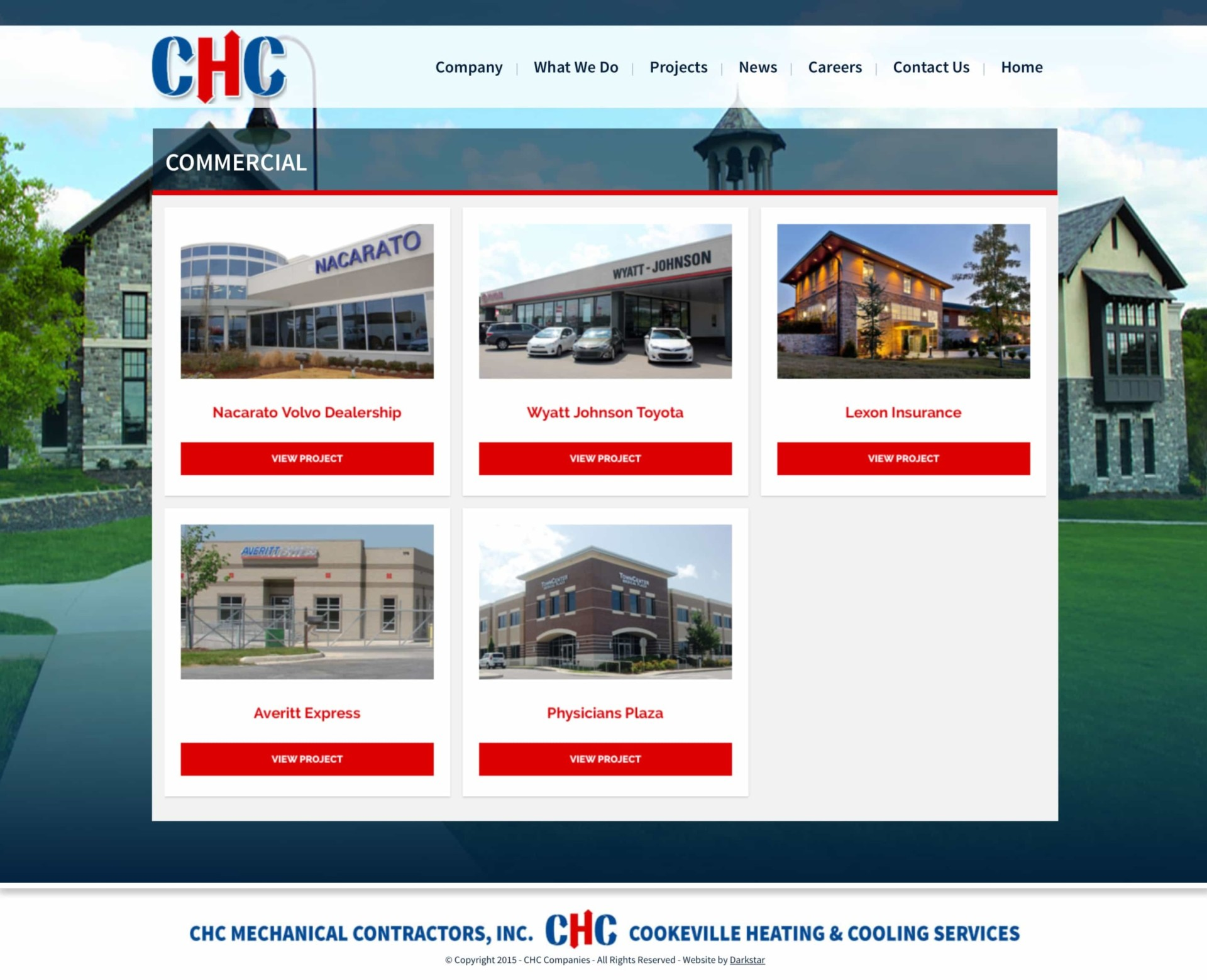 CHC - Web Design