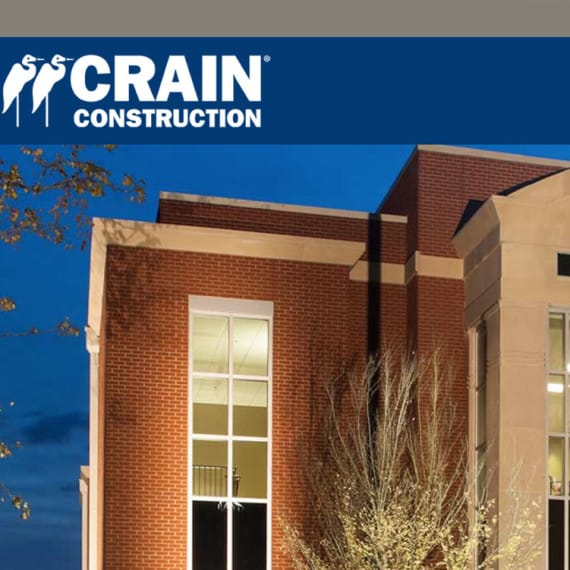 Crain Construction - Website Design