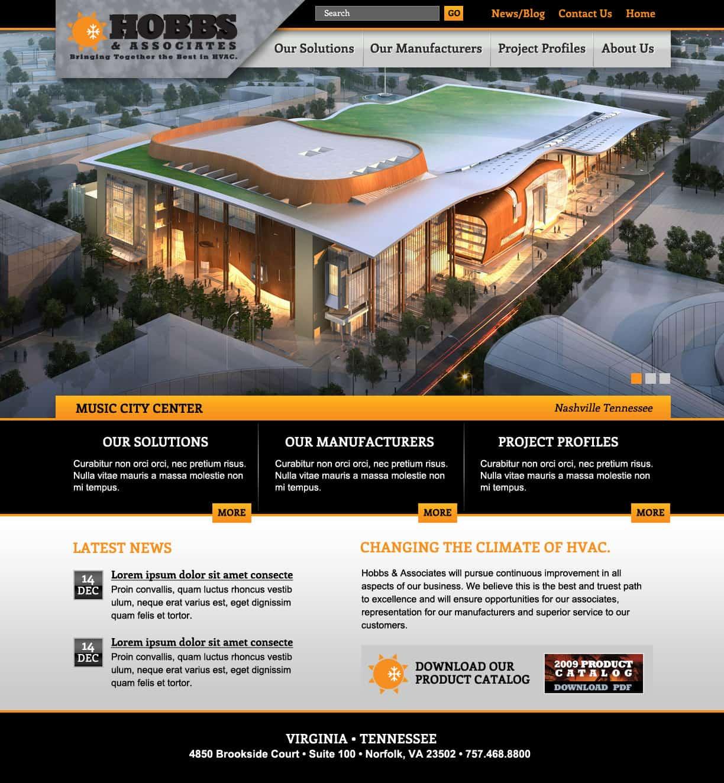 Hobbs - Website Design