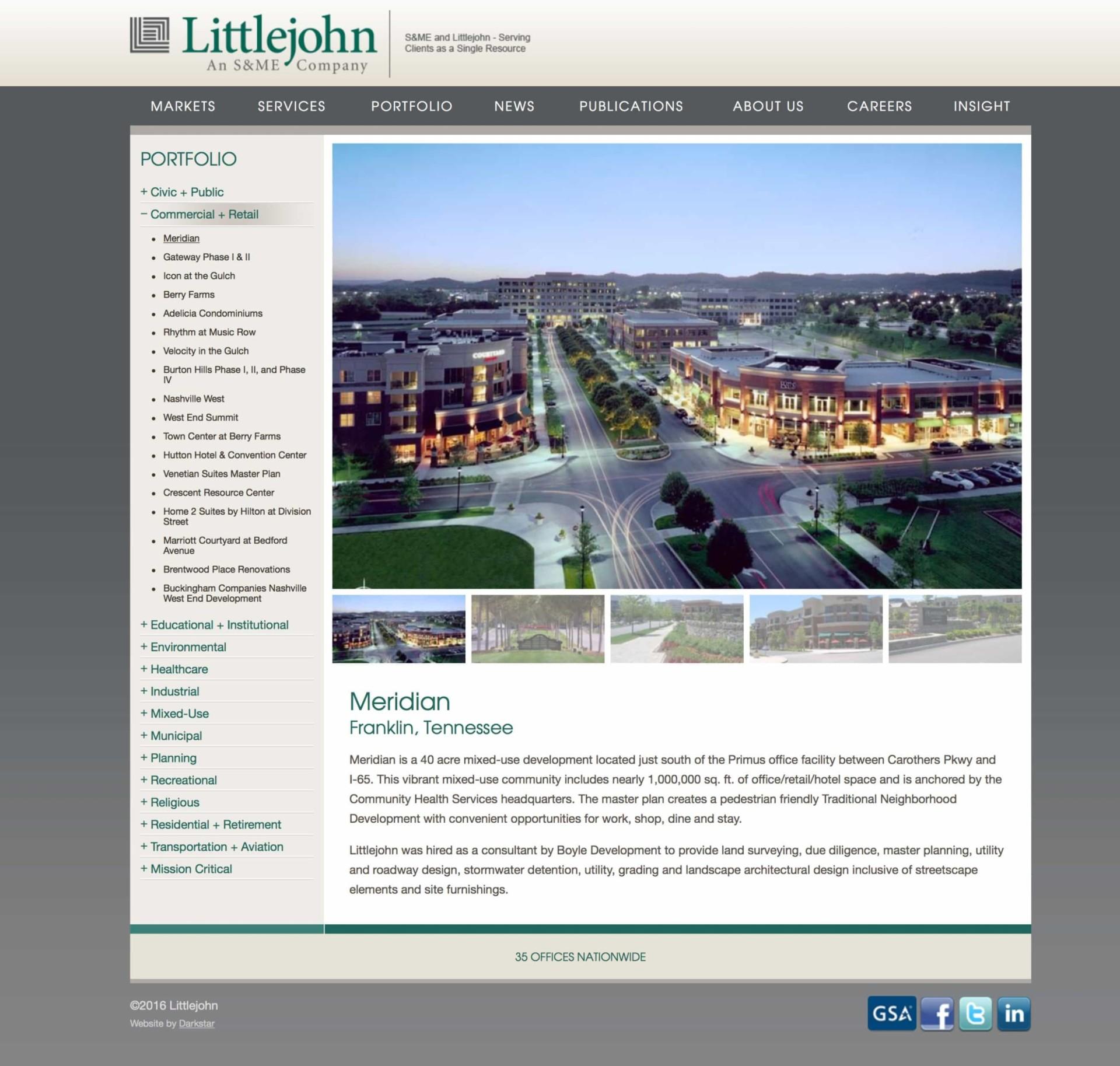 Littlejohn - Website Design