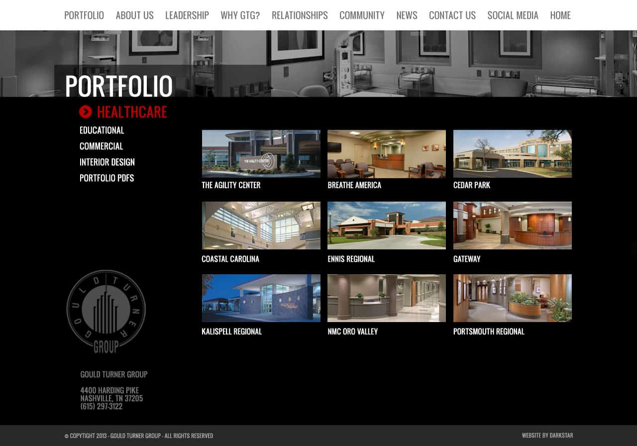 Gould Turner - Website Design