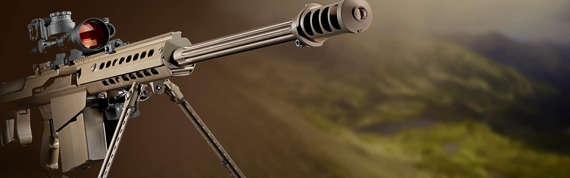 Barrett Rifles   Web Design   Custom Software   Darkstar Digital