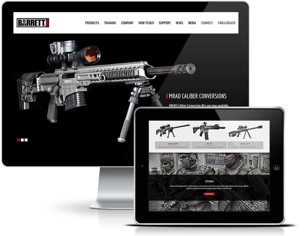 Barrett Responsive Website Design
