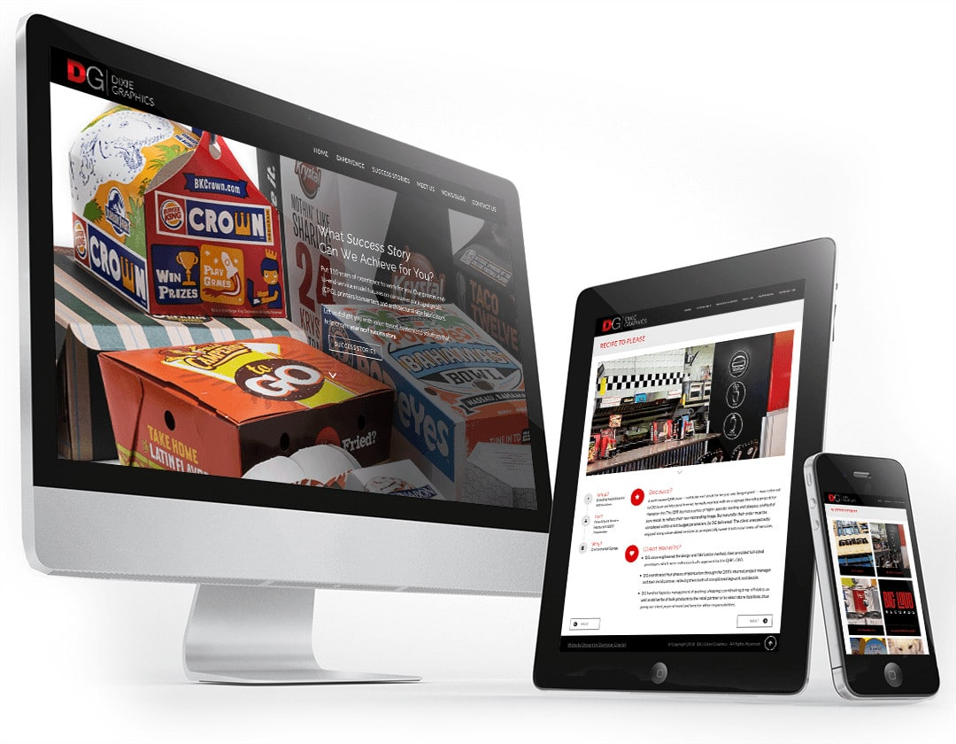Dixie Graphics - Nashville Web Design