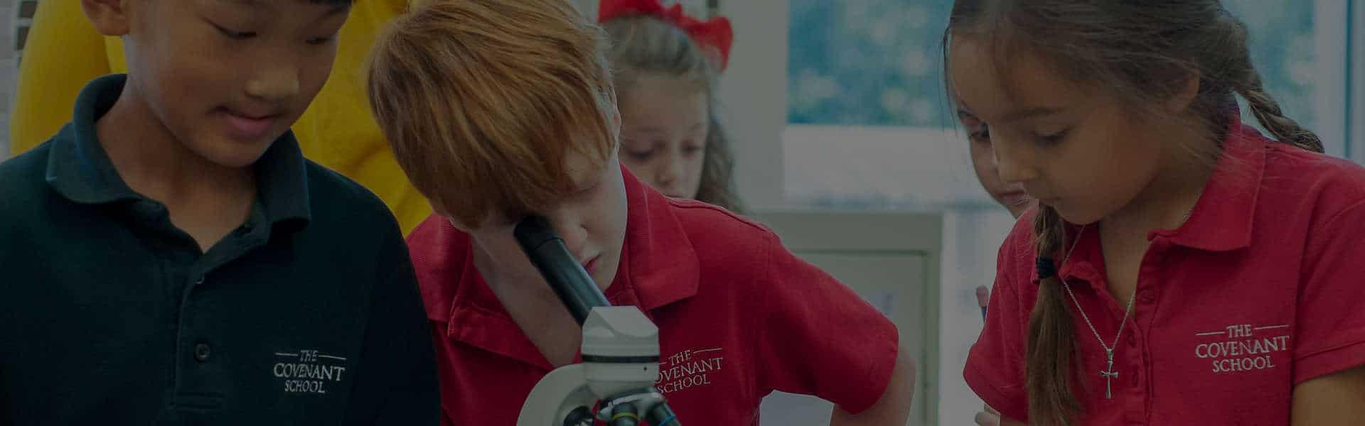 The Covenant School Website | Nashville Web Design | Darkstar Digital